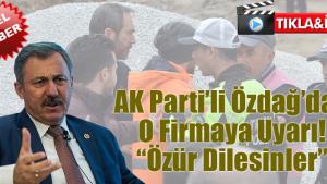 AK Parti'li Özdağ'dan Basına Engele Kınama